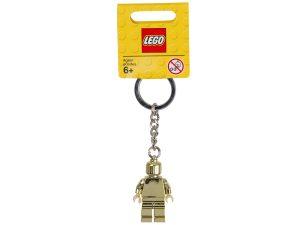 brelok do kluczy lego 850807 ze zlota minifigurka