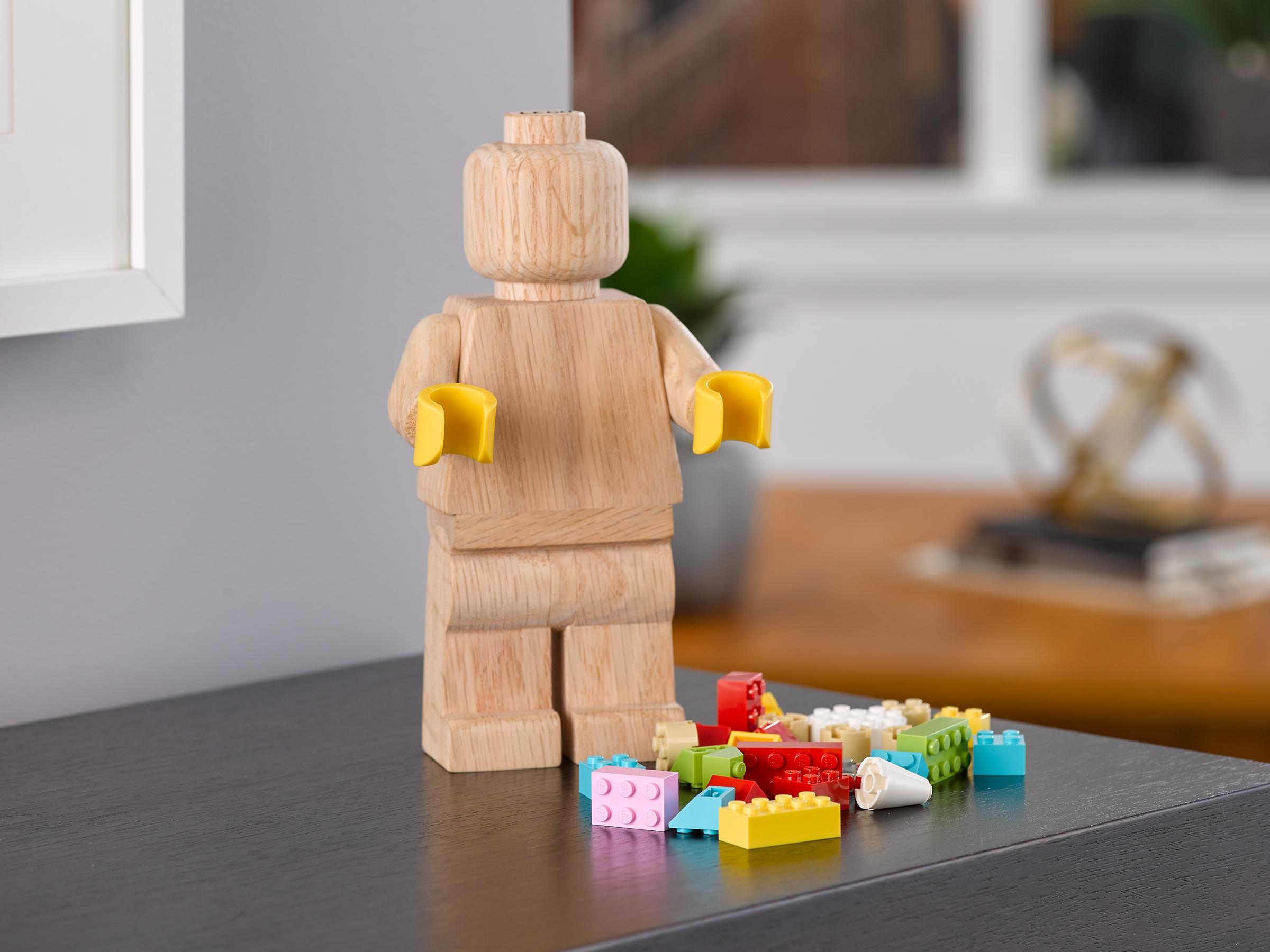 drewniana minifigurka lego 853967
