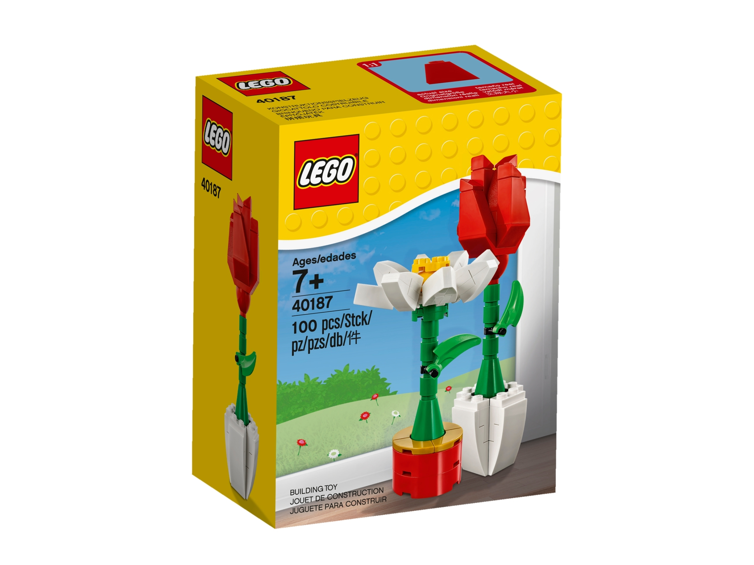 kwiaty lego 40187