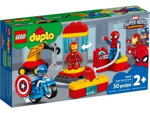 lego 10921 laboratorium superbohaterow