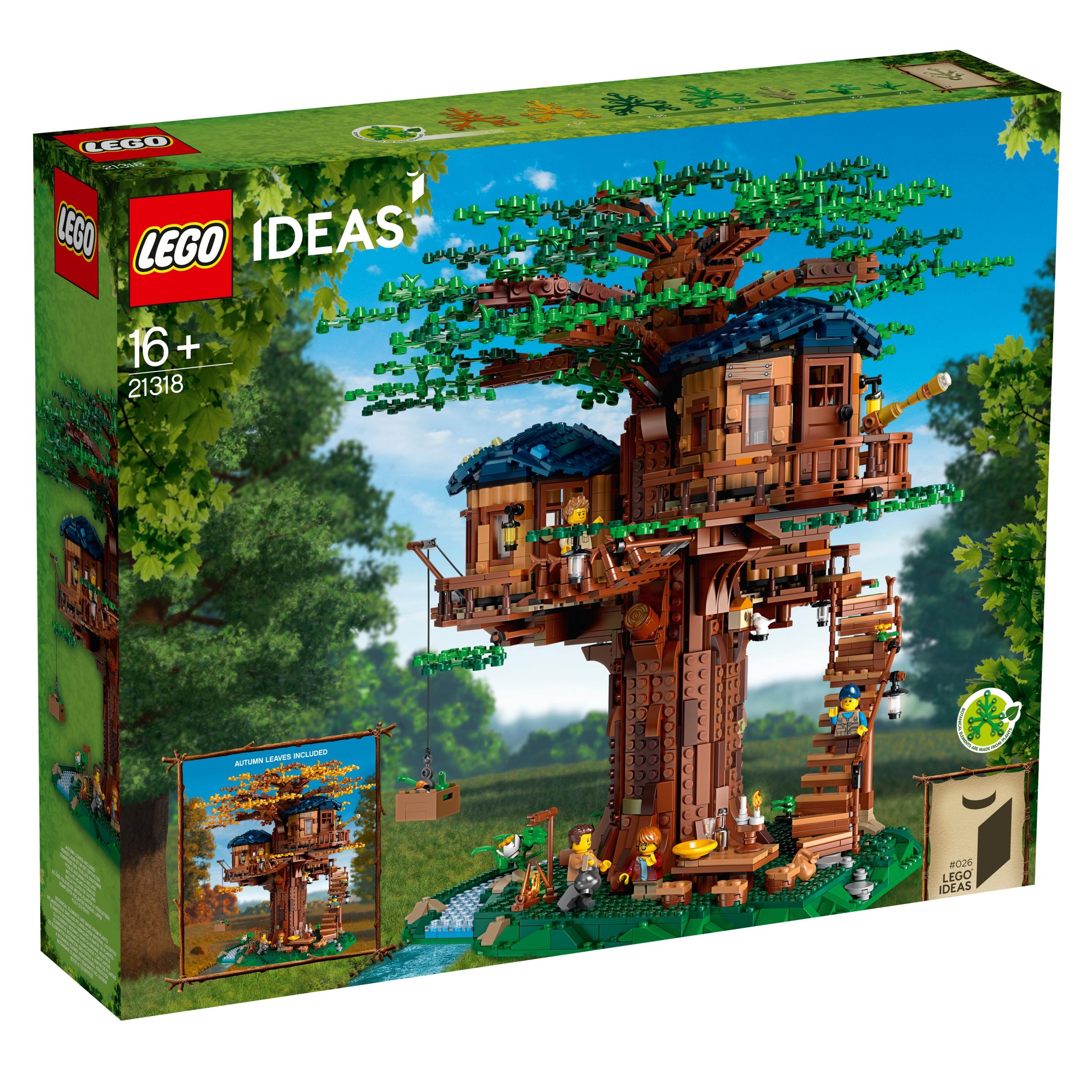 lego 21318 domek na drzewie