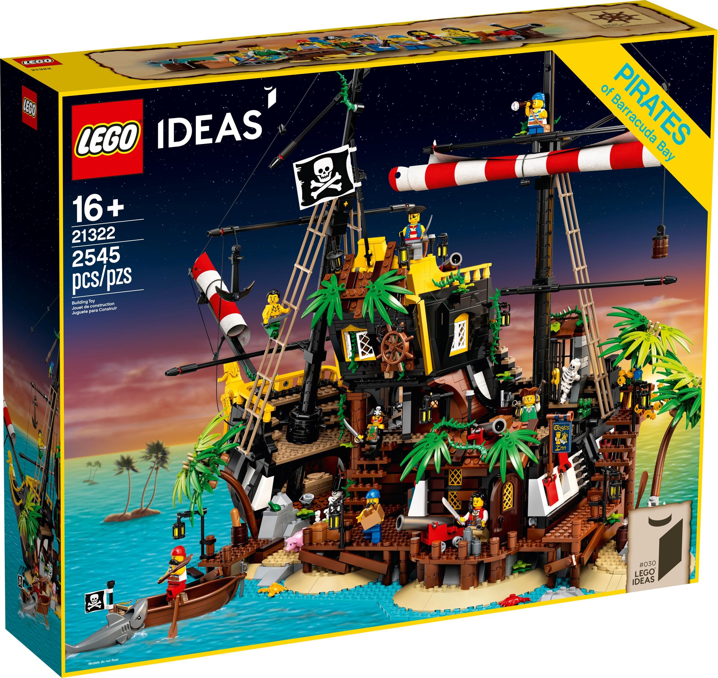 lego 21322 piraci z zatoki barakud