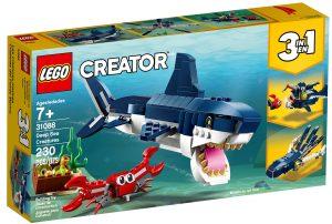 lego 31088 morskie stworzenia