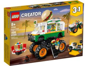 lego 31104 monster truck z burgerami
