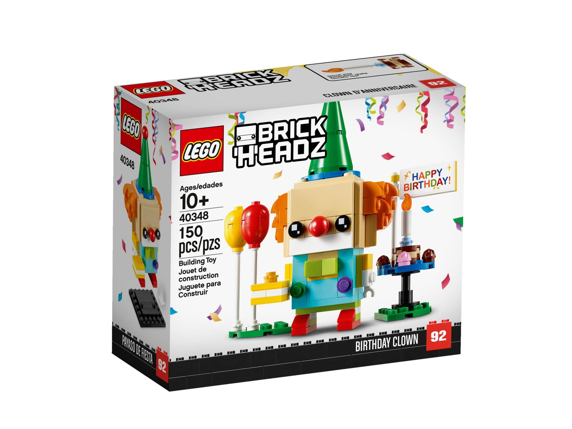 lego 40348 klaun z urodzinowego przyjecia
