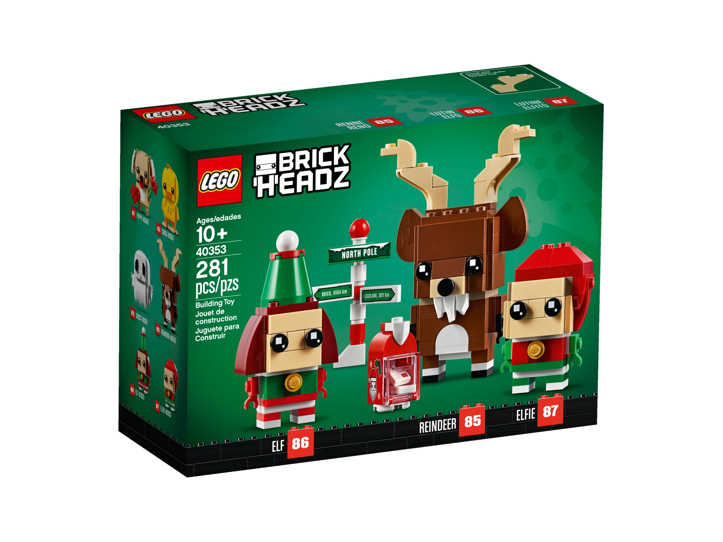 lego 40353 renifer elf i elfka