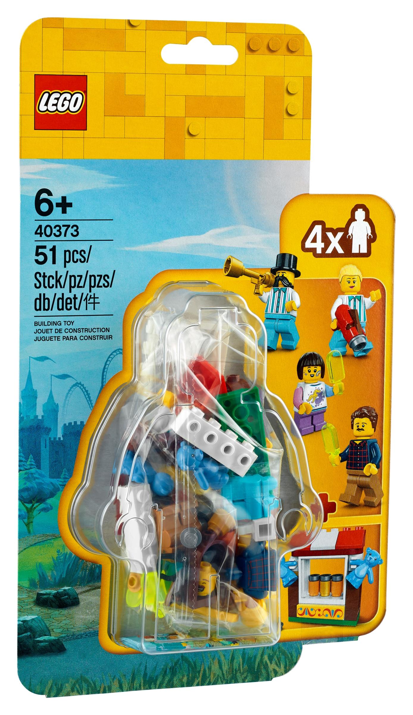 lego 40373 zestaw akcesoriow i minifigurek z lunaparku