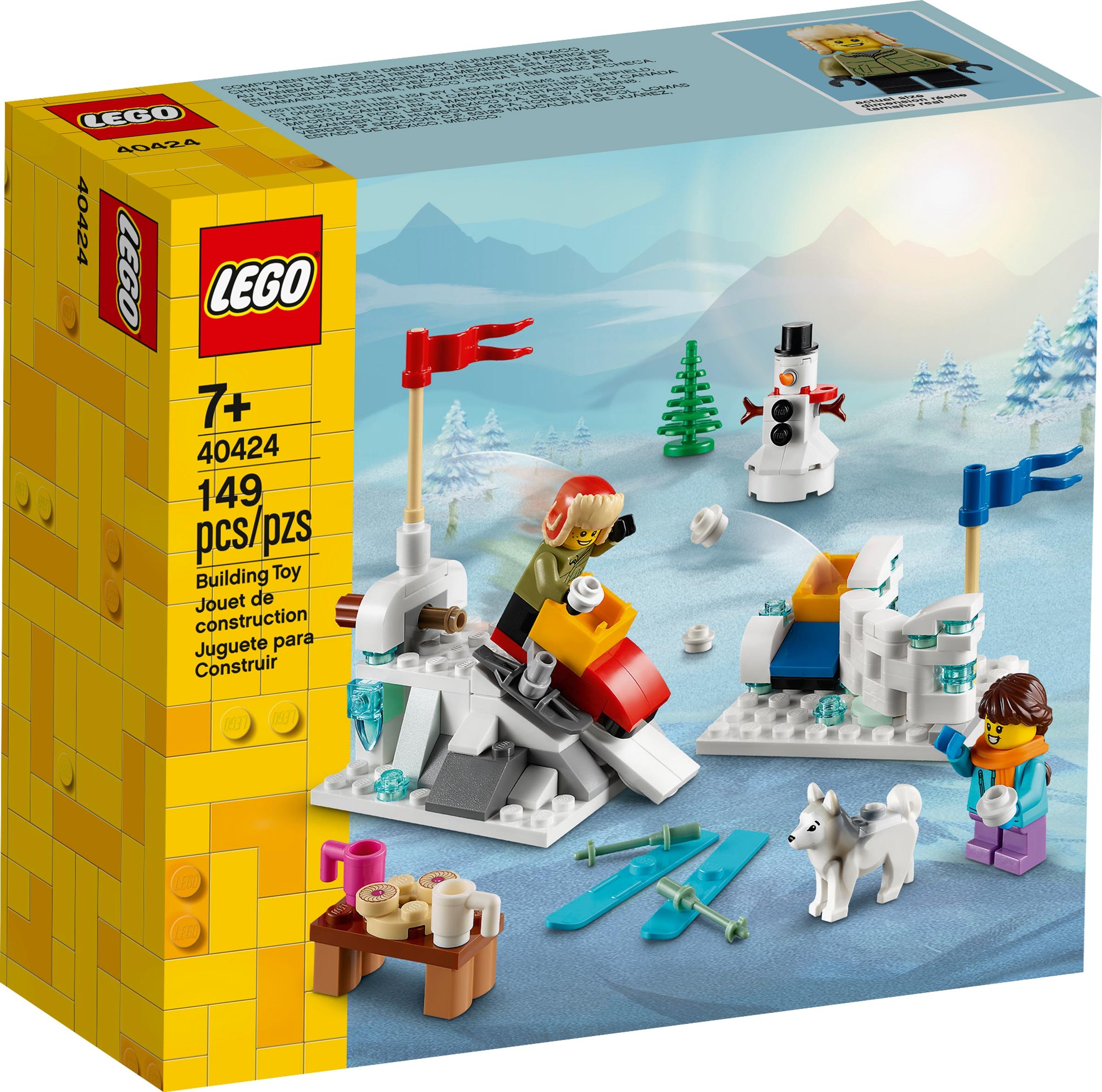 lego 40424 zimowa bitwa na sniezki