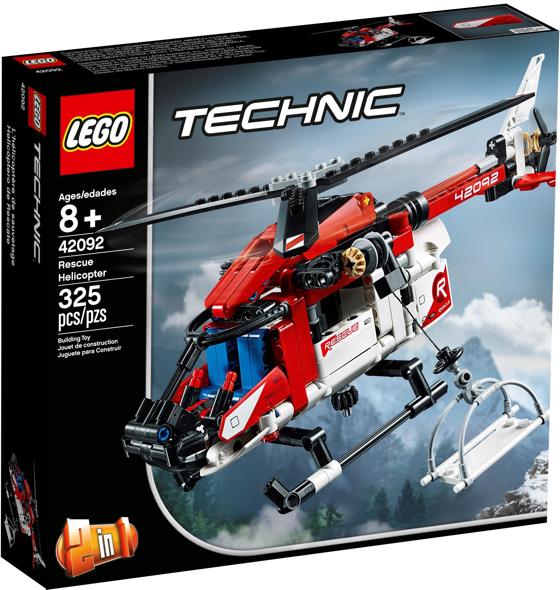 lego 42092 helikopter ratunkowy
