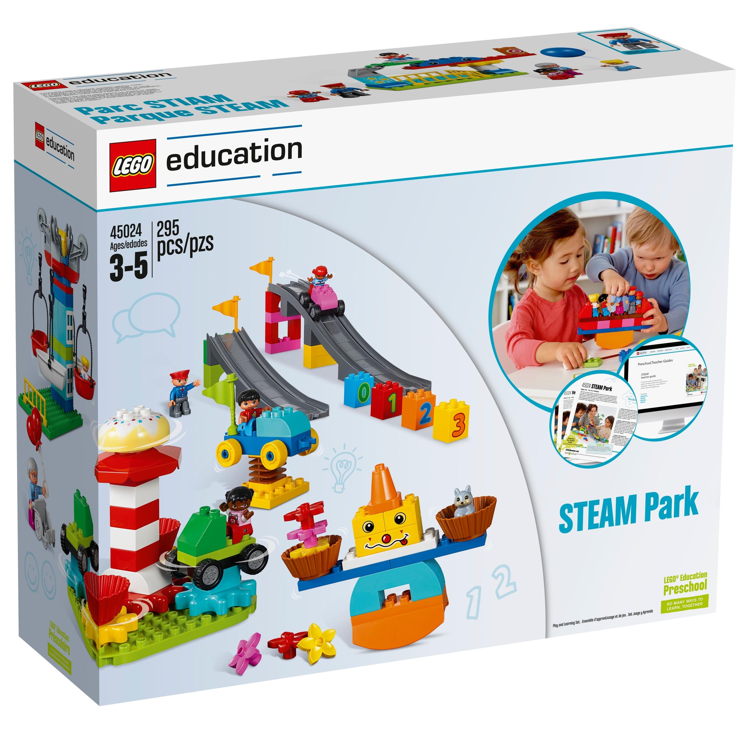 lego 45024 park steam