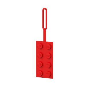 lego 5005542 czerwona zawieszka na bagaz 2x4
