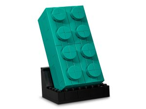 lego 5006291 turkusowy klocek 2x4