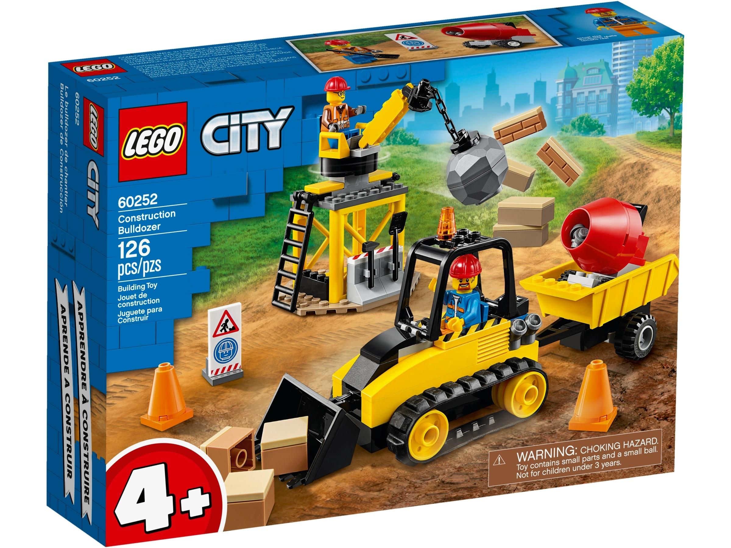 lego 60252 buldozer budowlany