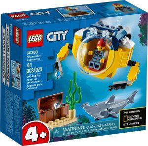 lego 60263 oceaniczna minilodz podwodna