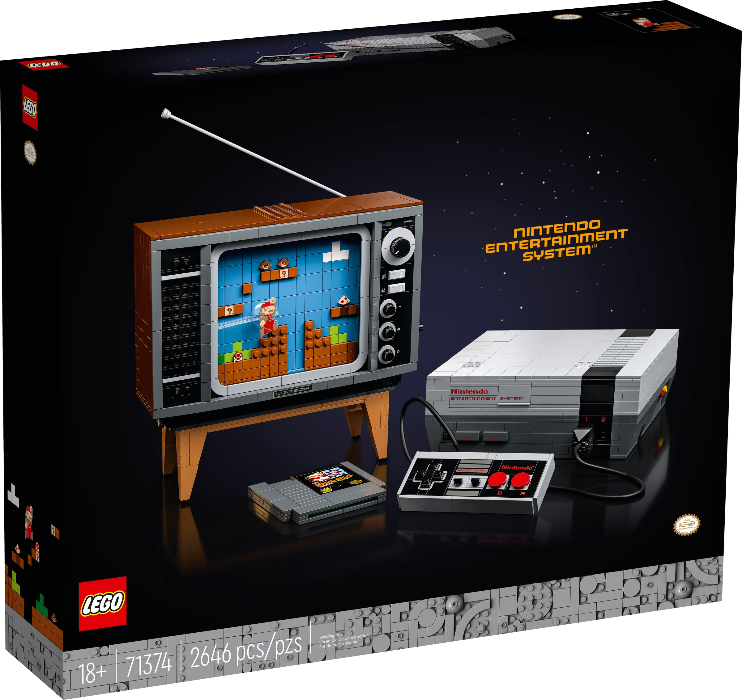 lego 71374 nintendo entertainment system