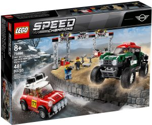 lego 75894 1967 mini cooper s rally oraz 2018 mini john cooper works buggy