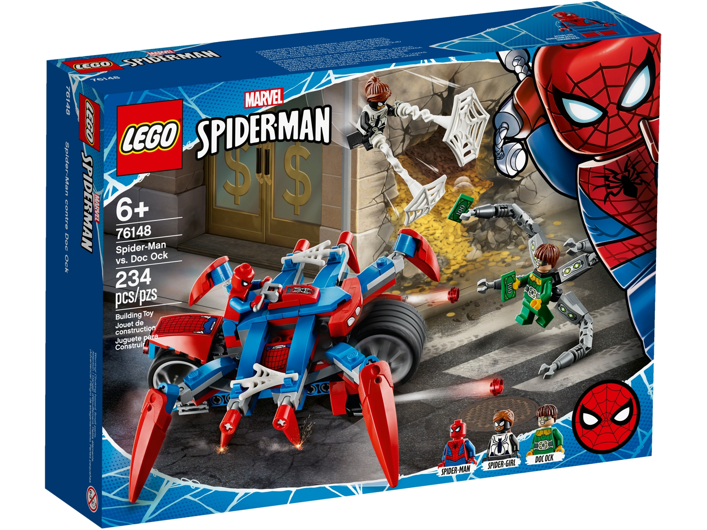 lego 76148 spider man kontra doc ock