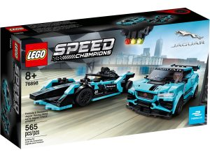 lego 76898 formula e panasonic jaguar racing gen2 car i jaguar i pace etrophy