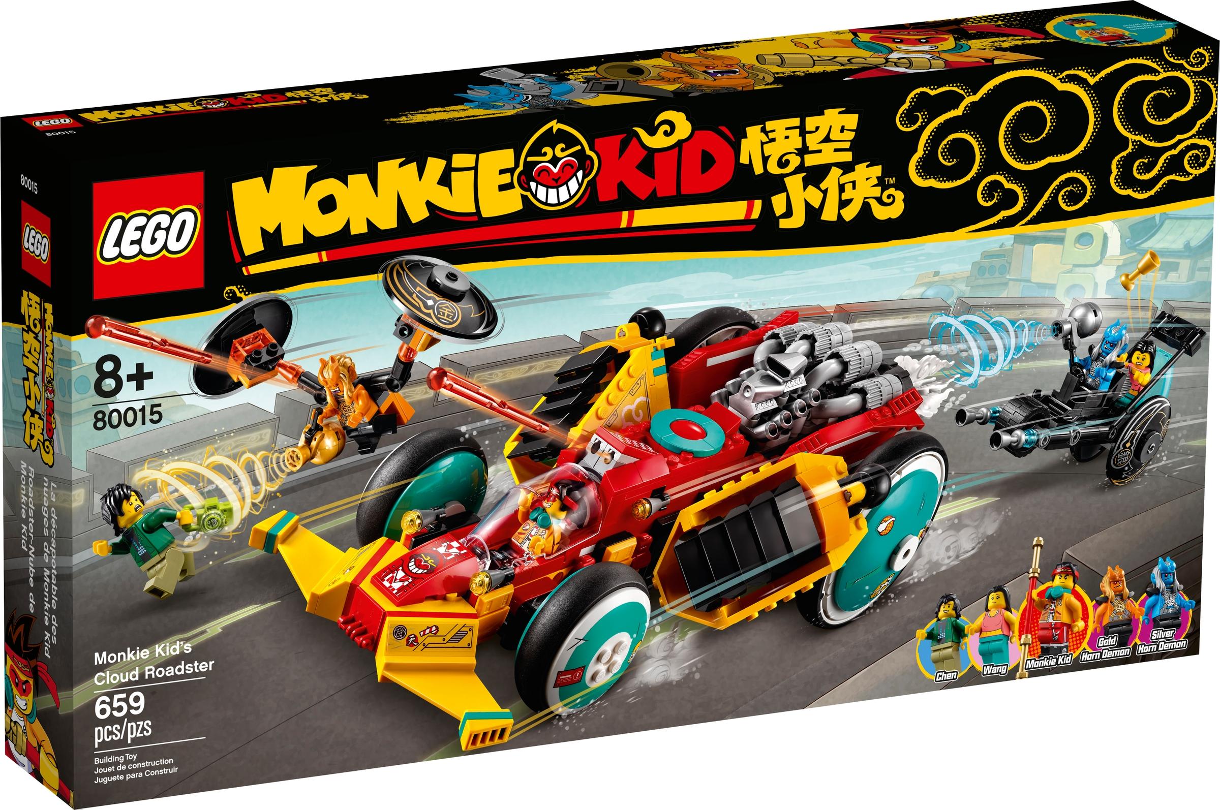 lego 80015 chmurkowy roadster monkie kida