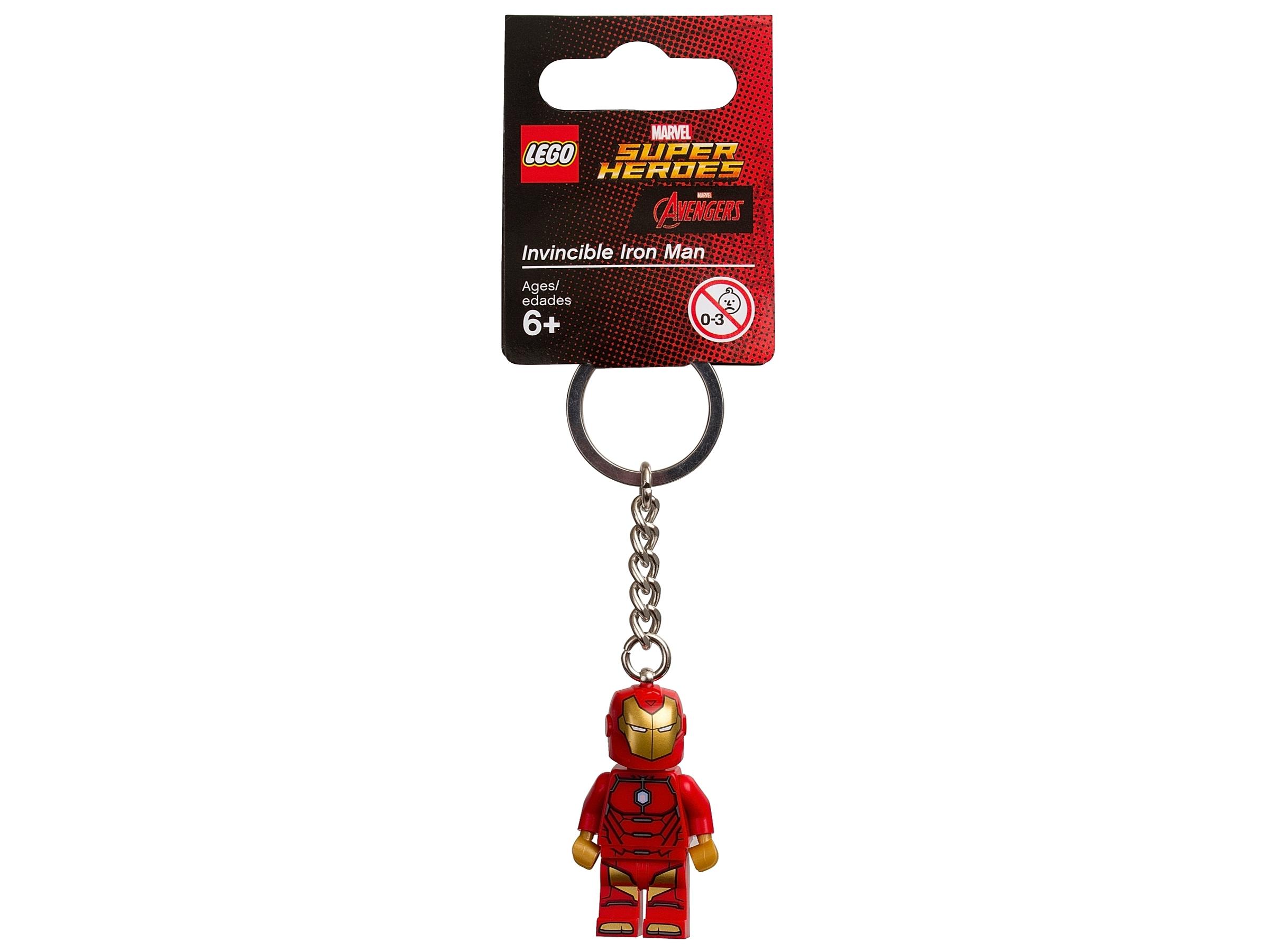 lego 853706 superbohaterowie marvela breloczek z niezniszczalnym iron manem