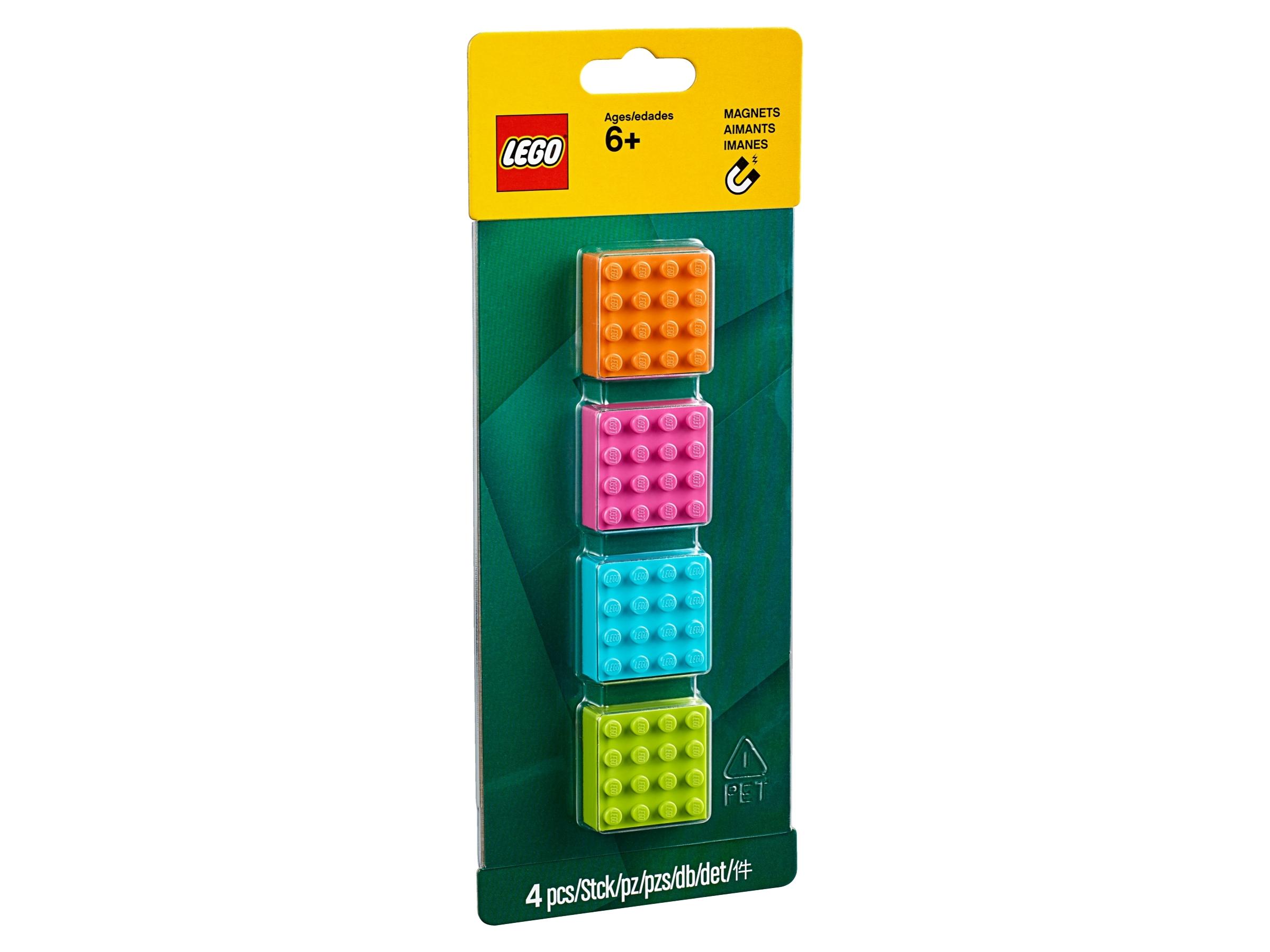 magnesy z klockiem lego 853900