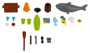 morskie akcesoria lego 40341 xtra