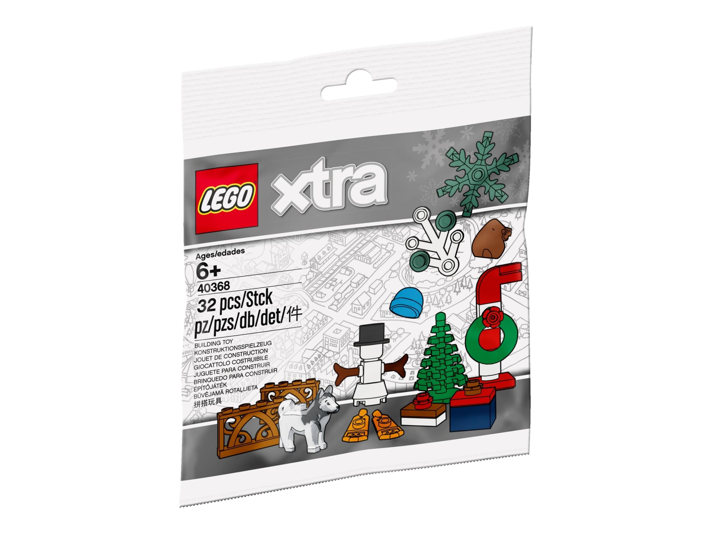 swiateczne akcesoria lego 40368