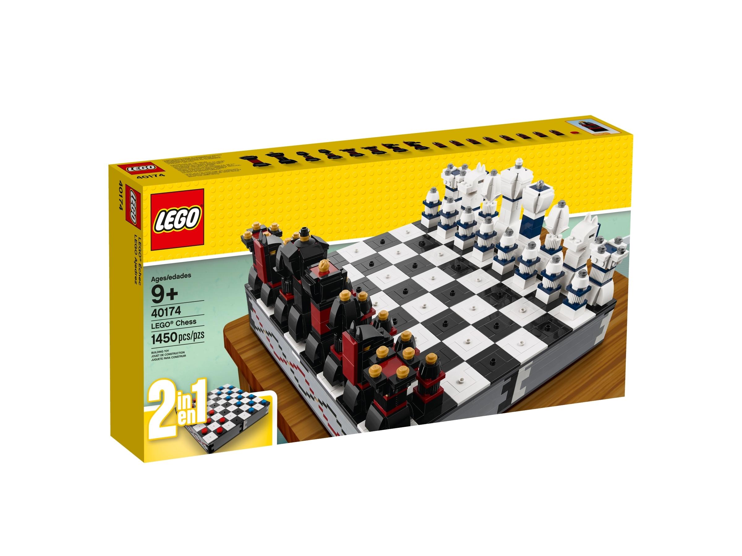 zestaw szachow z motywem lego 40174