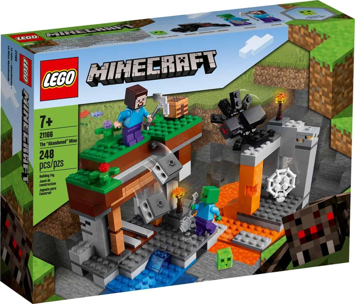 lego 21166 opuszczona kopalnia