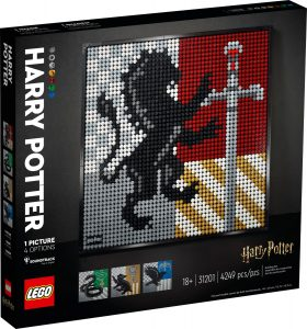 lego 31201 harry potter herby hogwartu