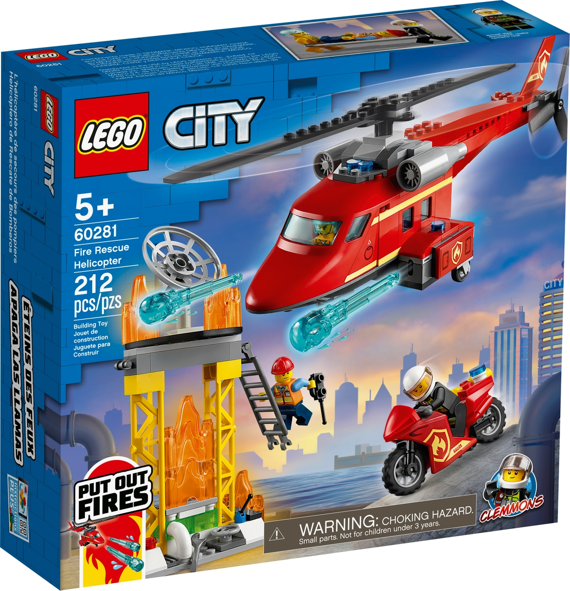 lego 60281 strazacki helikopter ratunkowy