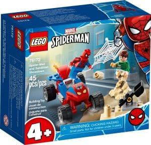 lego 76172 pojedynek spider mana z sandmanem