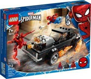 lego 76173 spider man i upiorny jezdziec kontra carnage