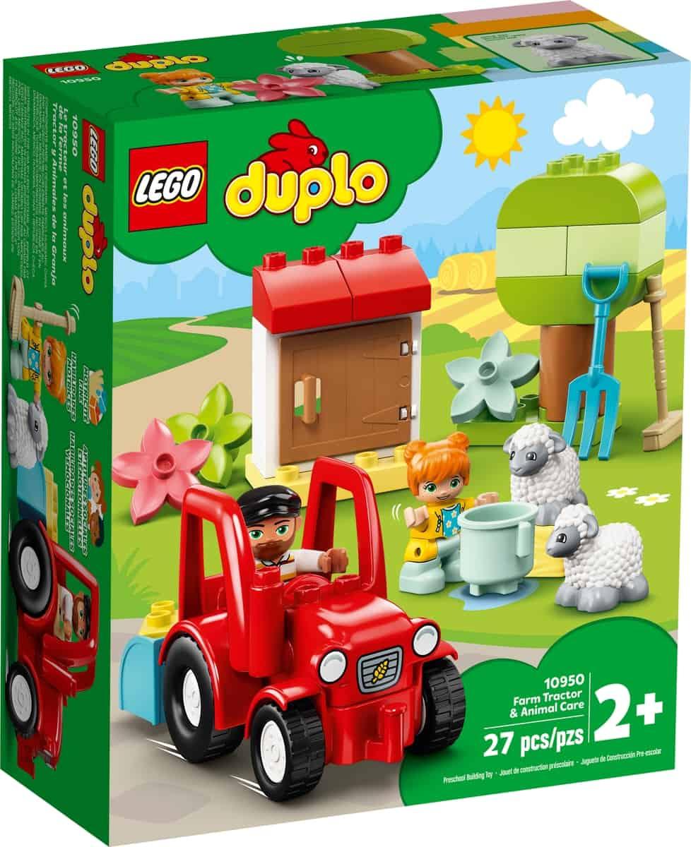 lego 10950 traktor i zwierzeta gospodarskie