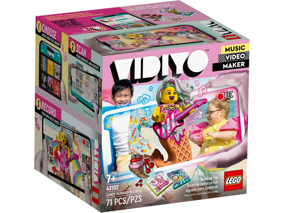 lego 43102 candy mermaid