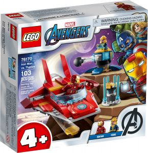 lego 76170 iron man kontra thanos