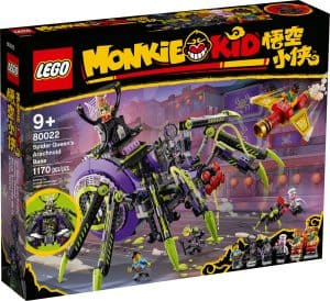 lego 80022 baza arachnoidow spider queen