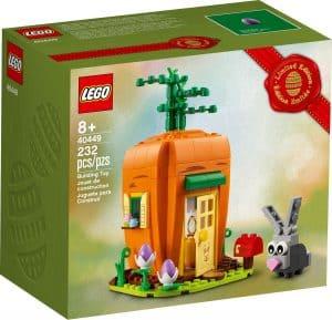 lego 40449 marchewkowy domek zajaczka wielkanocnego