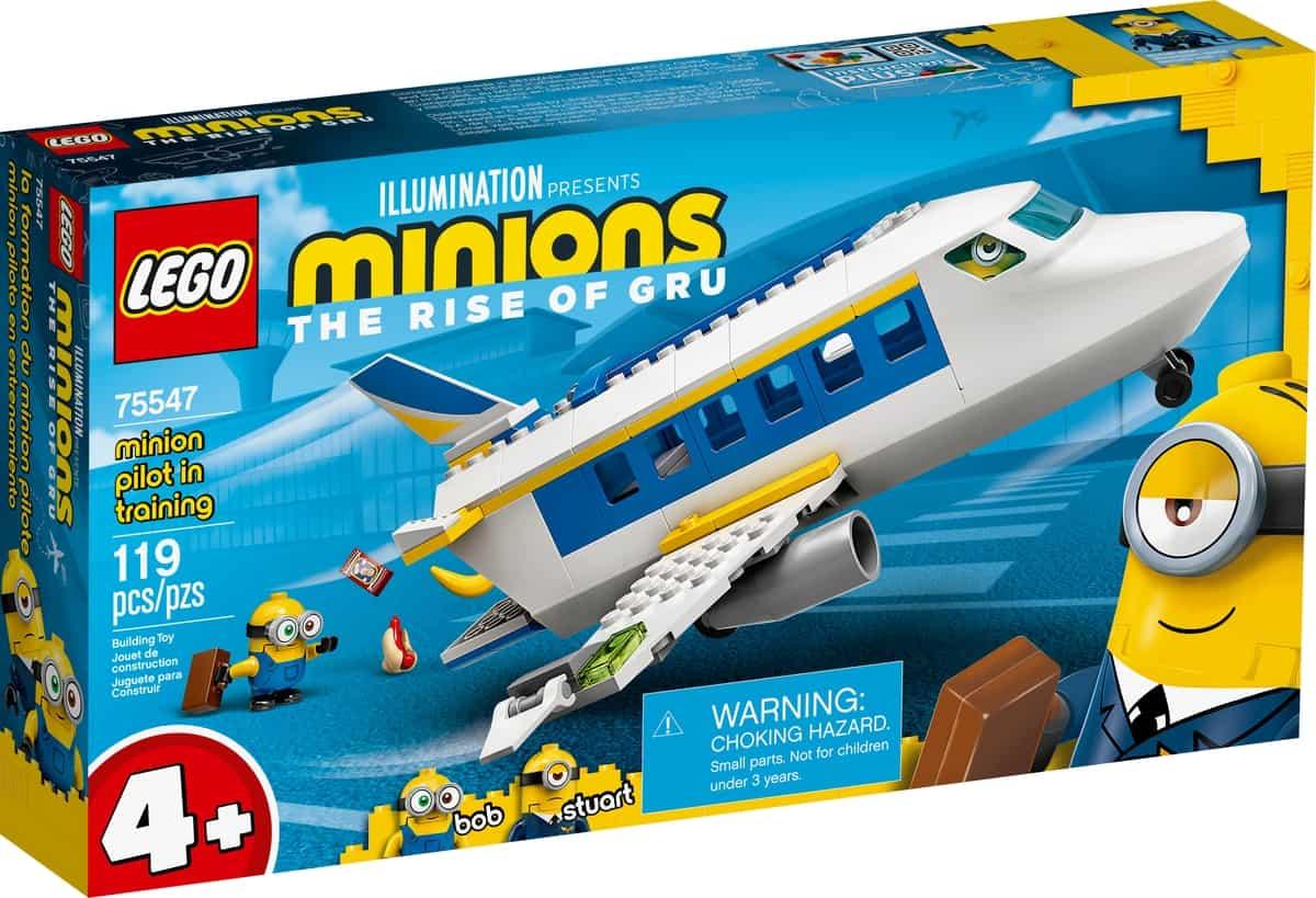 lego 75547 nauka pilotazu minionka