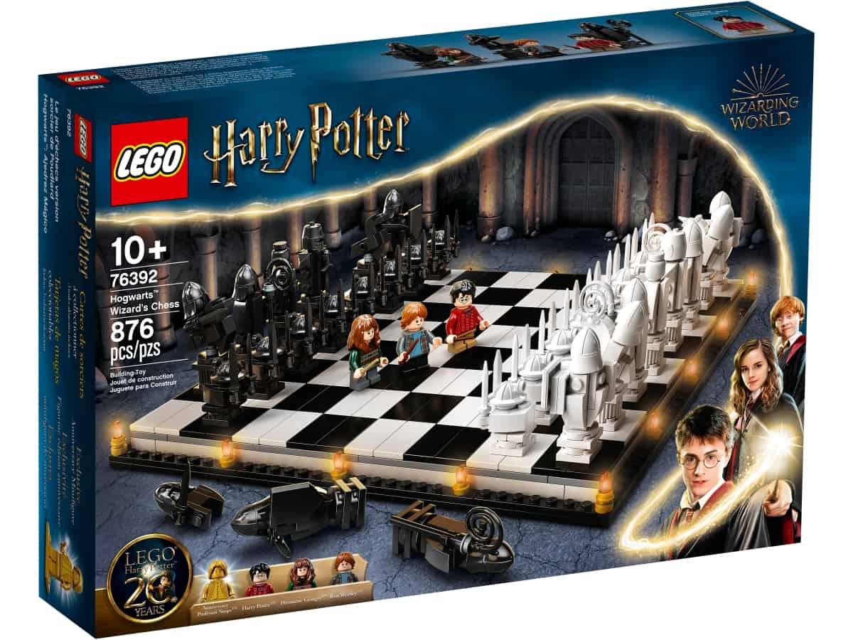 lego 76392 szachy czarodziejow w hogwarcie