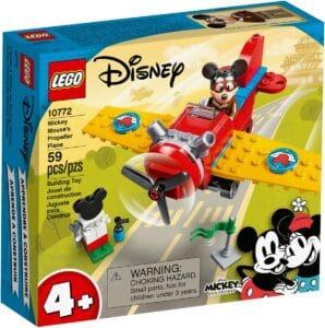 lego 10772 samolot smiglowy myszki miki