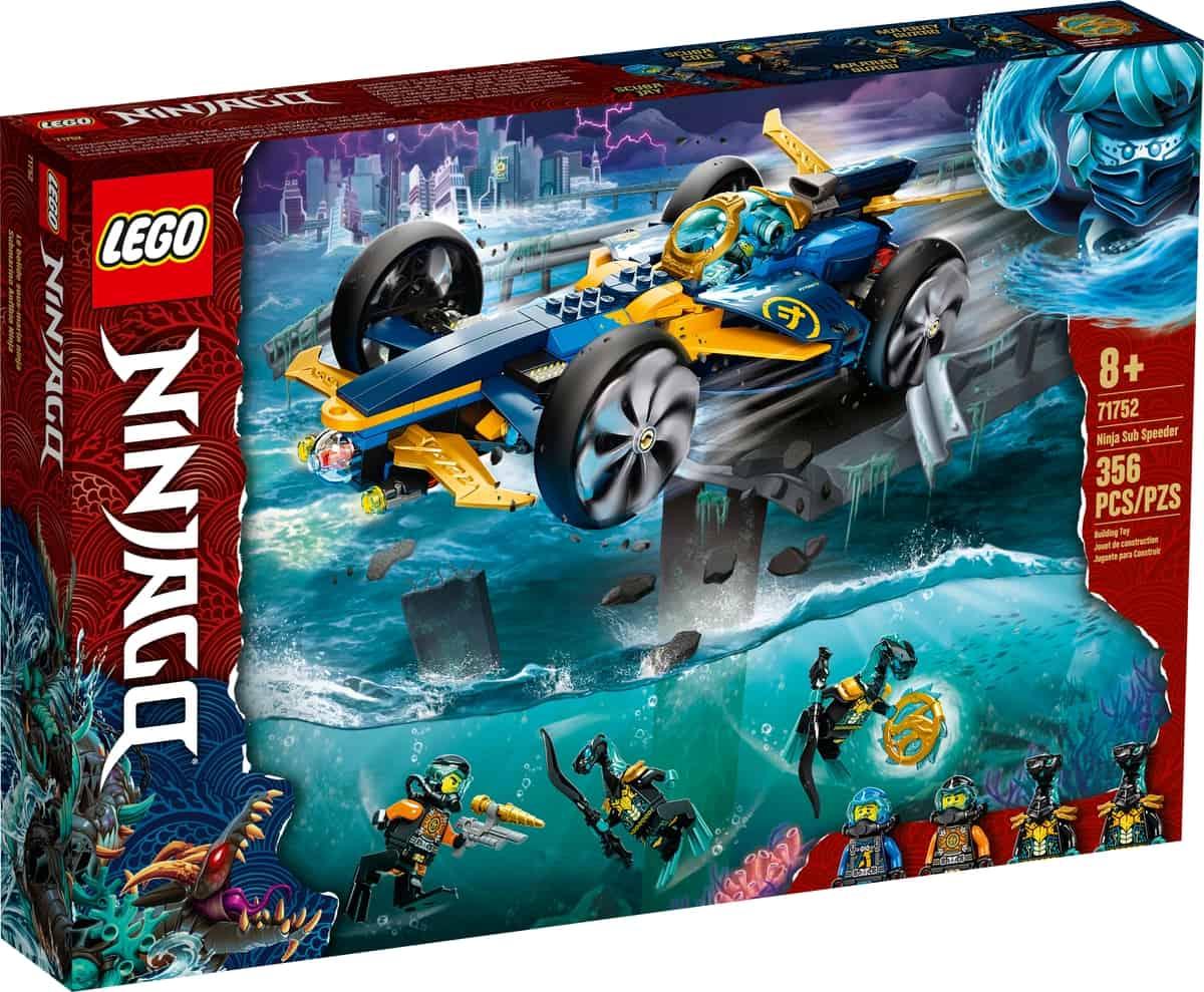 lego 71752 podwodny smigacz ninja