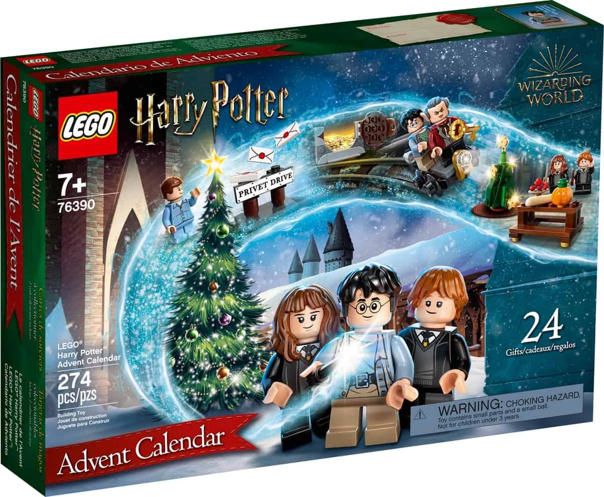 kalendarz adwentowy lego 76390 harry potter
