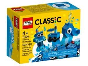 lego 11006 niebieskie klocki kreatywne