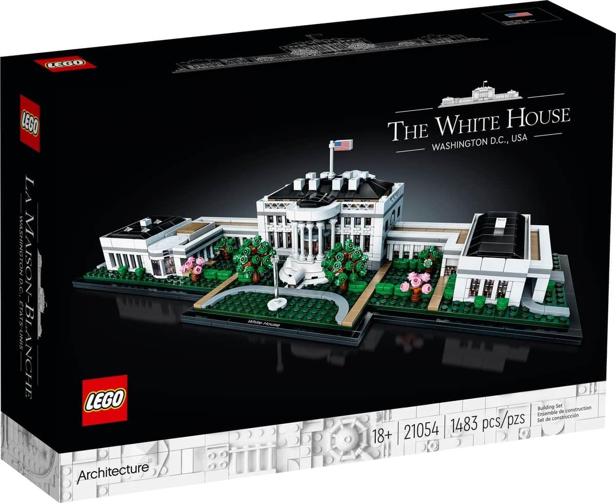 lego 21054 bialy dom