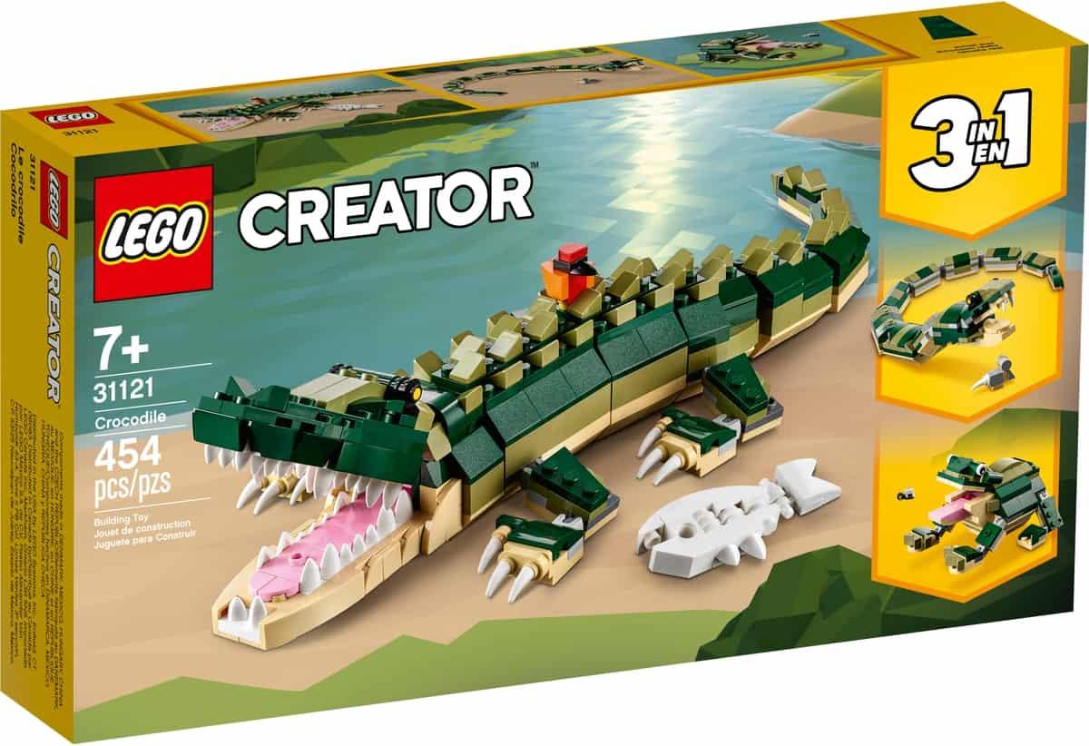 lego 31121 krokodyl