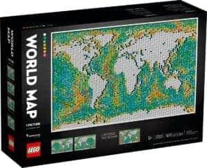 lego 31203 mapa swiata