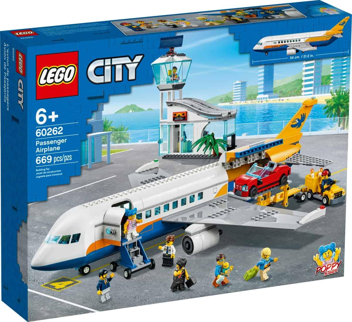 lego 60262 samolot pasazerski