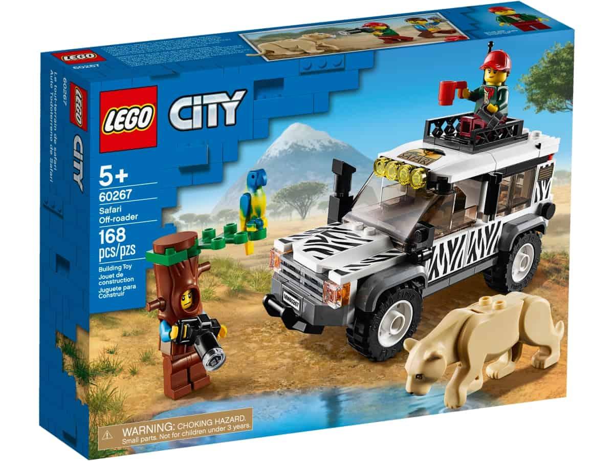 lego 60267 terenowka na safari