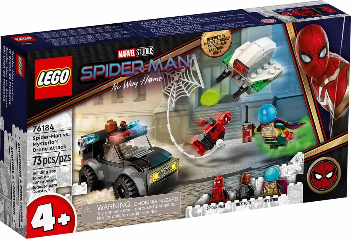 lego 76184 spider man kontra mysterio i jego dron